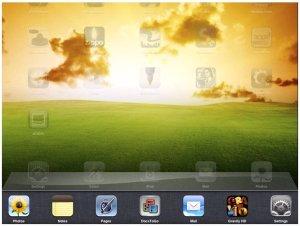 Fitur Multitasking (semacam ALT+TAB di Windows)
