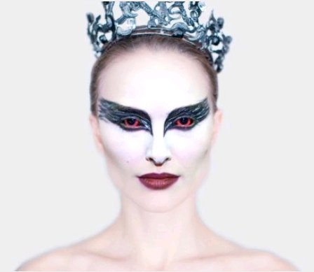 Natalie Portman as Black Swan