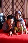 Bertiga : Rayyan, Wilia, Aila