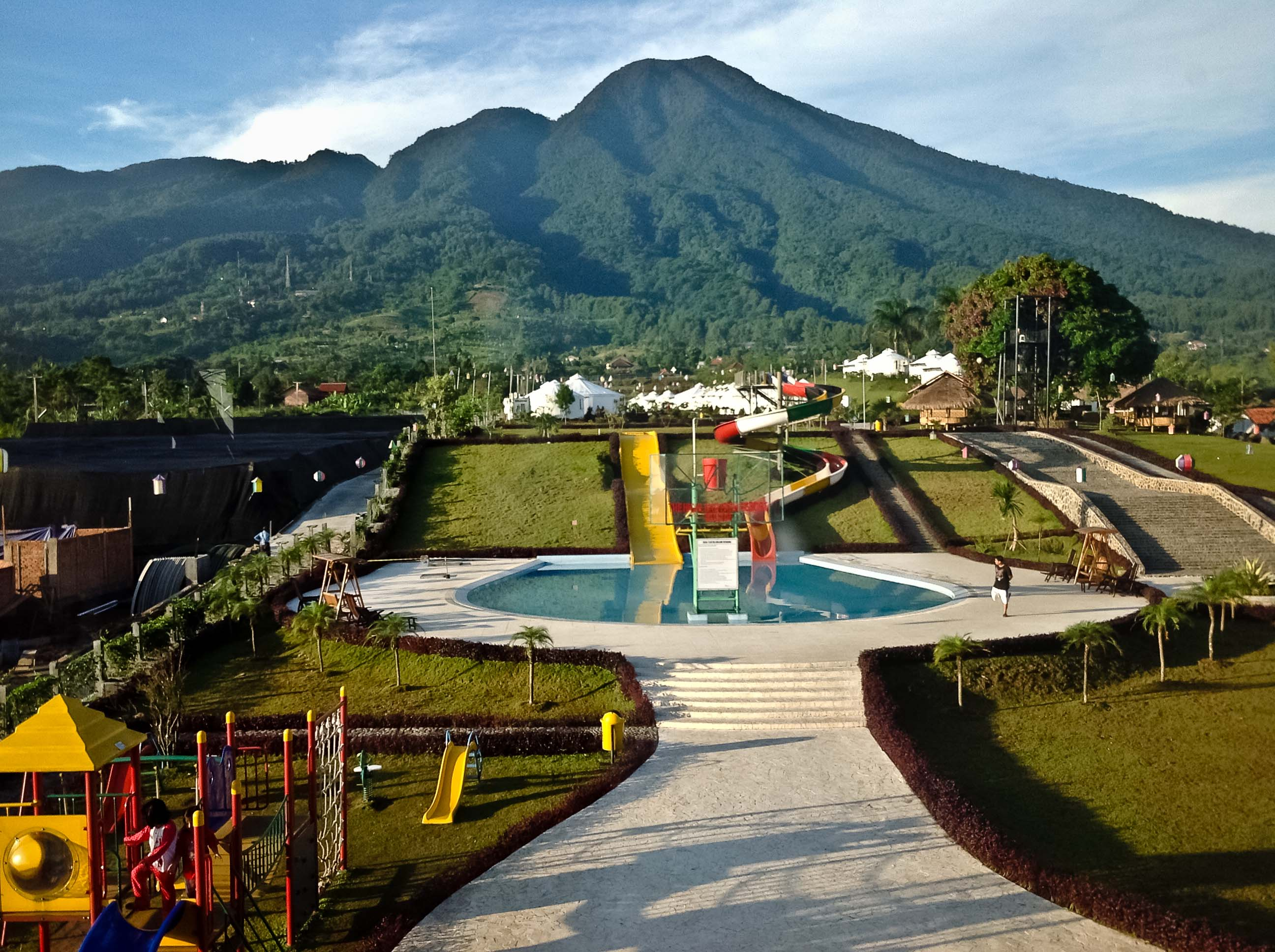 Menginap Di Tenda Mongolia Highland Park Resort Bogor Untold