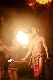 Fire Dance @ Night Safari