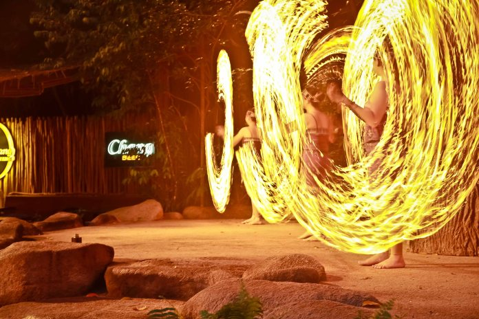 Fire Dance @ Night Safari