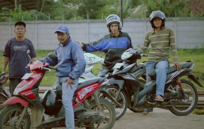 Ojek - Motorcycle taxi