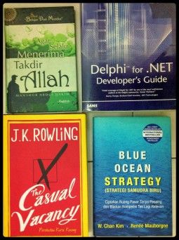 4 Different Books - Religious, Technology, Fiction, and Business