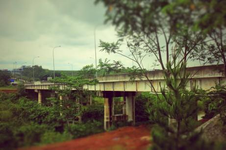 Jembatan di belakang Karimata