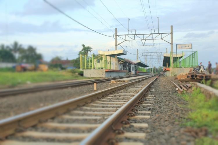Cisauk Train Station