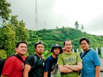 Me and Colleagues @ Guci, Central Java, Indonesia