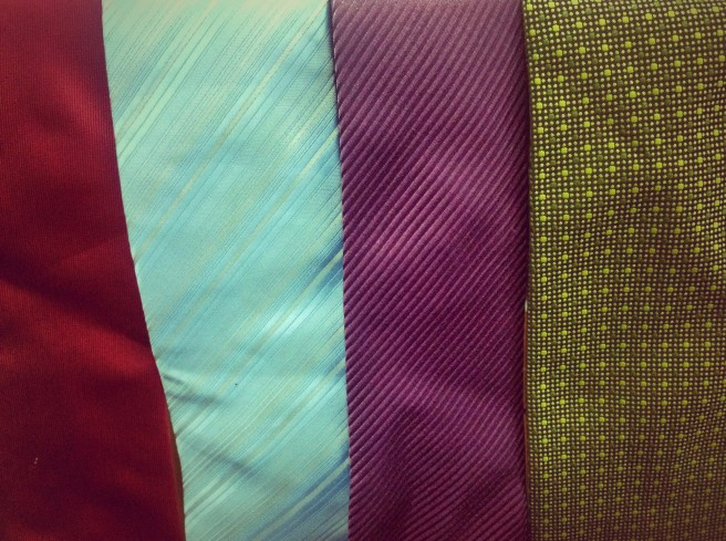Four of my ties...