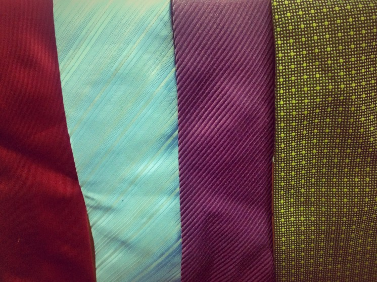 Four of my ties...