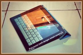 iPad 3 modus ketik