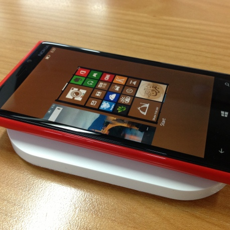Lumia and Wireless Charger