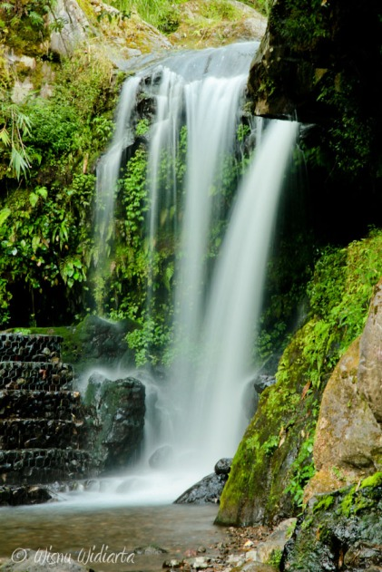 One of Guci Waterfall