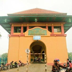 Pintu Jembatan Bendungan