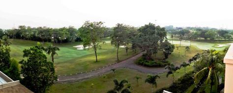 Panoramic View dari Kamar Hotel