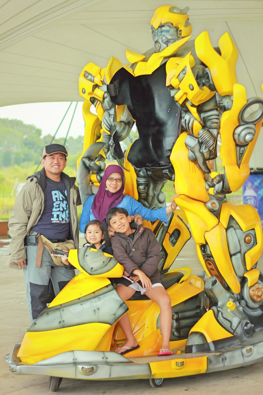 With Bumblebee