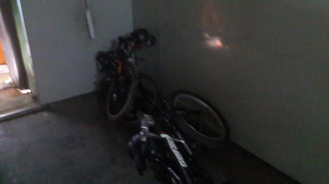 Sepeda di Gerbong Aling-aling