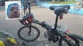 Sepeda parkir di mesjid