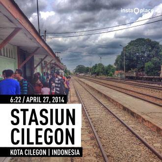 Di Stasiun Cilegon