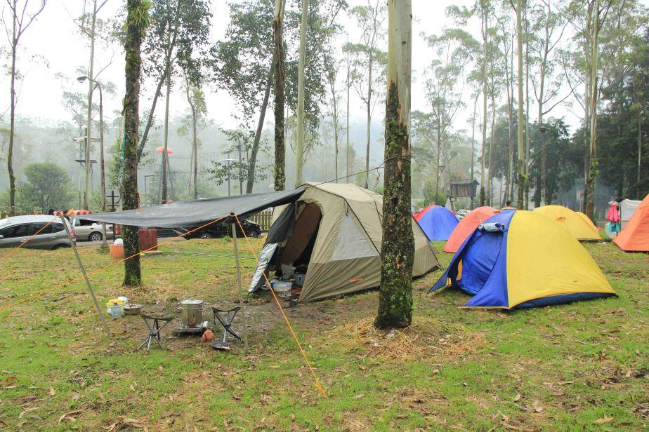 Camping di Ranca Upas – Ciwidey –Bandung