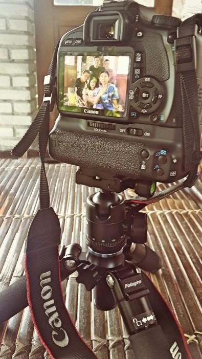 Selfie dengan Canon + Remote