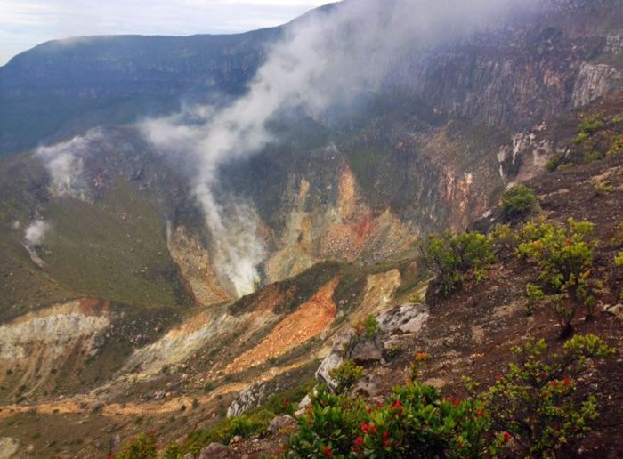 Gede Crater