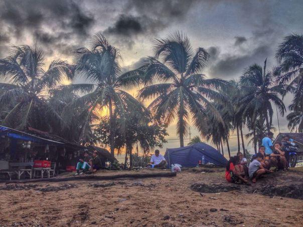 View dari pantai