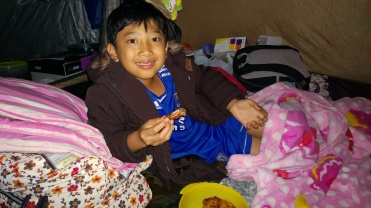 Rayyan dan Chicken Wing