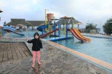 Next to pool