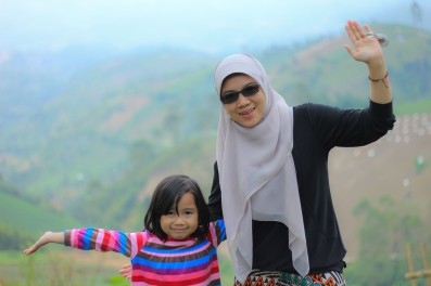 Mom and Aila