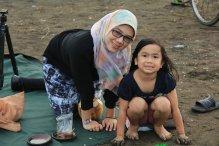 Bersama mamah