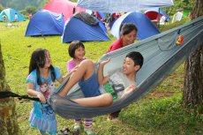 Bercanda di hammock