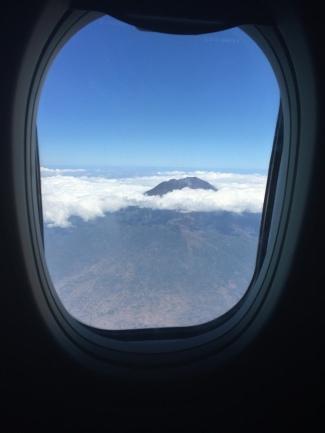 View dari pesawat