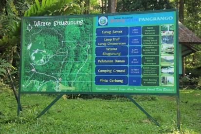 Peta situs wisata