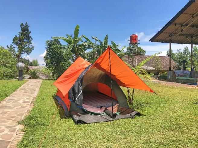 Tenda di siang hari