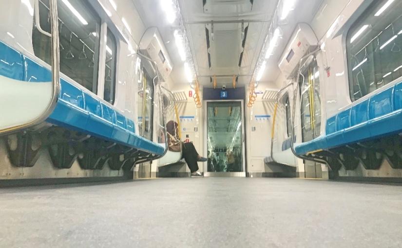 Uji Coba MRT Jakarta FaseI