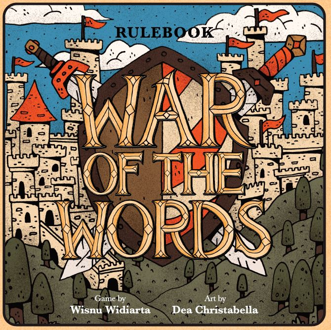Board Game War of the Words Rule Book